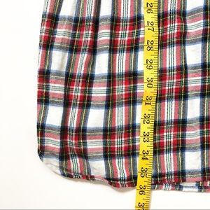 GAP Dresses - GAP Kids Plaid Flannel Long Sleeve Shirtdress